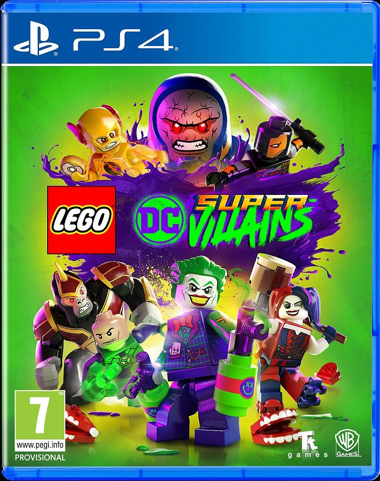 Lego DC Super Villains PS4 - AKCIJA